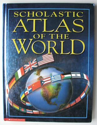 Scholastic Atlas of the World - Earth Science Book Hard Cover 2001