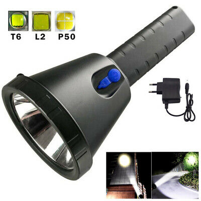 Long Range xm-l2 xhp50 T6 Led Flashlight Powerful Searchlight Flash Torch Light