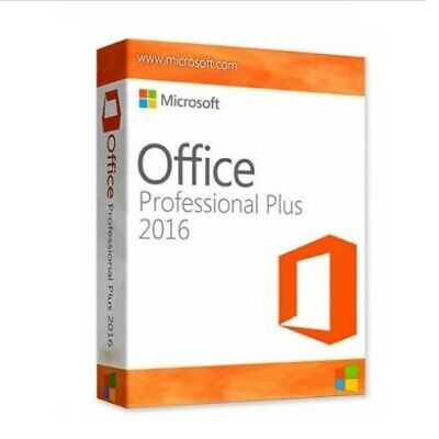Microsoft Office Professional 2016 Plus Software Vollversion Key 32/64 Bit Email