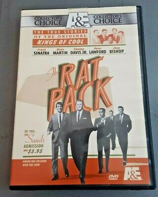The Rat Pack DVD Set A & E Collectors Choice True Story of the Kings of Cool