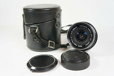 Pentax-M SMC 35mm F/2.8 K Mount Wide Angle MF Lens Made in Japan