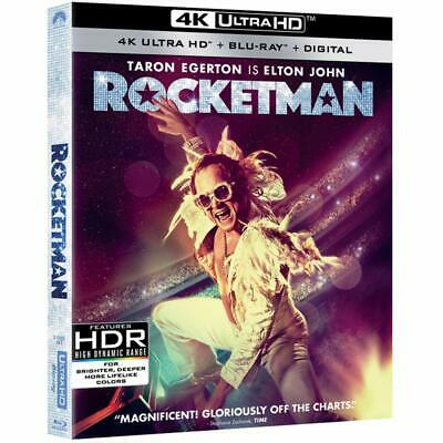 Rocketman 4K UHD with Slip Cover - Brand New Ships Now READ DETAILS
