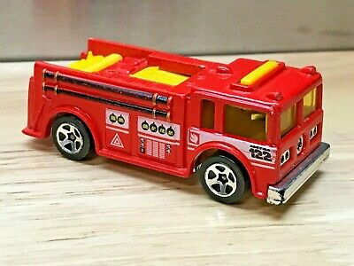 Hot Wheels Fire Eater, 1999 City Center 5-Pack Exclusive, Loose Red Variation