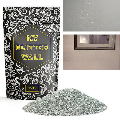 Silver Glitter Paint Additive For Emulsion Walls Paints