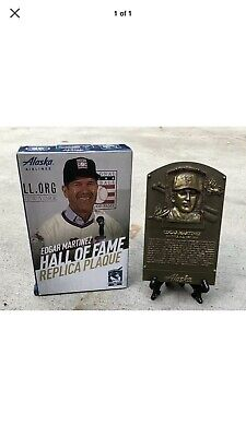 Edgar Martinez Replica Hall Of Fame Plaque 8/10/19 Seattle Mariners SGA NEW HOF