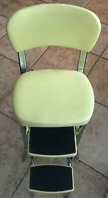 COSCO YELLOW KITCHEN Step Stool Chair - $95.00 | PicClick