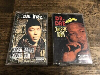 Dr Dre Cassette Tape Lot Of 2 Chronic NWA Snoop Dogg Death Row