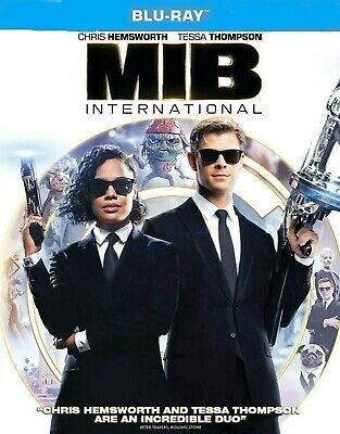 MIB Men In Black International Blu-ray ONLY- Brand New SHIPS NOW