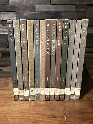Vintage Lot (13) Time Life: The Great Ages of Man Partial Set Hardcover Books