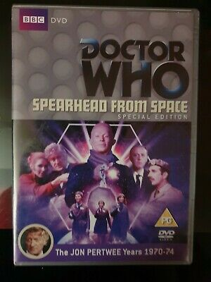 Classic doctor who dvd Spearhead From Space (special edition)