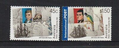 AUSTRALIA 2002 JOINT ISSUE WITH FRANCE MNH Design Set 1 only $2.00