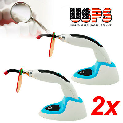 3PCS Dental10W Wireless Cordless LED Curing Light Lamp from USA STOCK