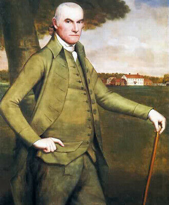 William Floyd Signer of United States Declaration of Independence Oil Painting