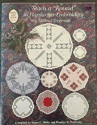 Stitch A Round In Hardanger Embroidery