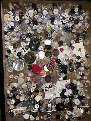 Vintage Old Button Mixed Lot #8