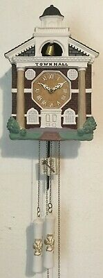 Lux Town Hall Bell Striking Cuckoo Clock