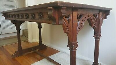 Antique French Oak Table 19th Century