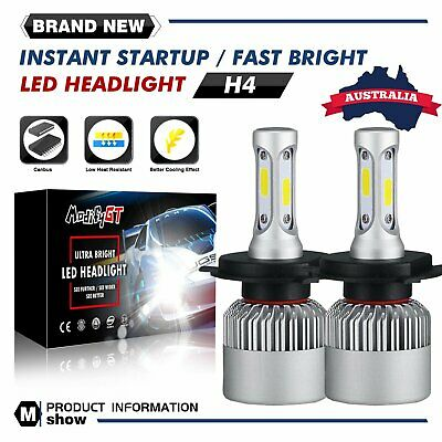 MGT H4 9003 HB2 LED Headlight Bulb Hi/Lo Beam Replace Halogen 2210W 331500LM AU