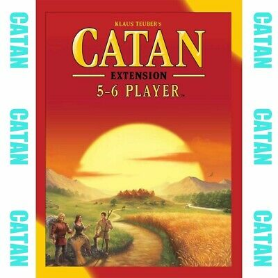 New Settlers of Catan Board Game 5th Edition 5-6 Players Extension Party Game