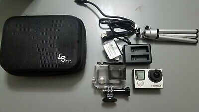 GOPRO HERO 4 Silver Camcorder 1080p 60fps 12MP LCD Touch