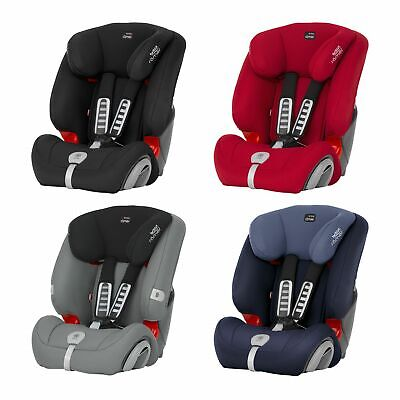 Britax Romer EVOLVA 123 PLUS Group 1/2/3 Child Car Seat – 9M-12Y/36kg