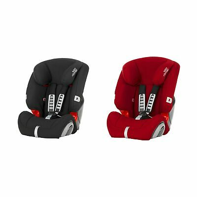 Britax Romer EVOLVA 123 Group 1/2/3 Child Car Seat – 9M-12Y/9-36kg
