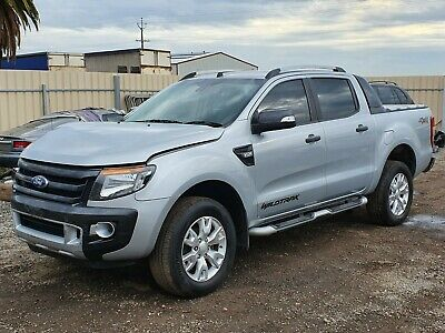 2015 Ford Ranger Wildtrack Px 4X4 Dual Cab 3.2Dt 142Kms Auto Damaged Repairable