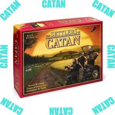 New Settlers of Catan- Catan Board Game Award Winning New 5th Edition Sealed