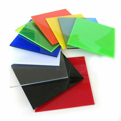 1pcs Color Acrylic Sheet Plate Plastic Plexiglass Panel Small Size DIY Crafts