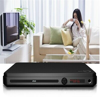 Compact DVD Player HDMI Upscaling + Scart USB Multi Region Remote Control NEW UK