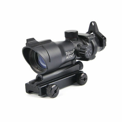 Tactical ACOG Style 1x32 Red/Green Dot Rifle Hunting Scope With QD Mount