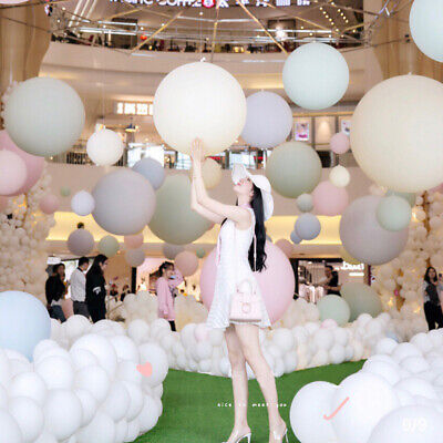 36 Inch Macaron Candy Pastel Latex Balloon Wedding Party Birthday Decoration UK