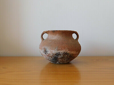 Ancient Neolithic Pottery Clay Pot Jar