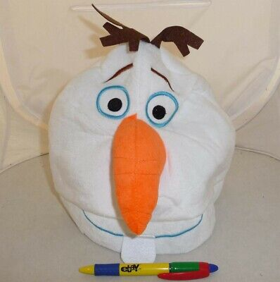 Hat Plush Olaf Snowman Frozen Japan Cosplay New