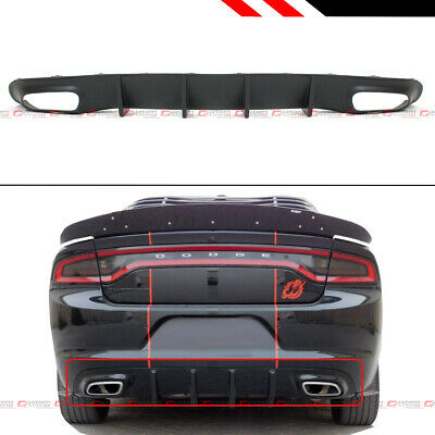 For 2011-2019 Dodge Charger Factory HELLCAT Style Spoiler Wing Fin PRIMER