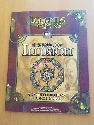 School of Illusion: A Compendium of Illusion Magic (Legends & Lairs, d20 System)