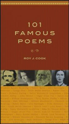101 Famous Poems by Roy J. Cook.