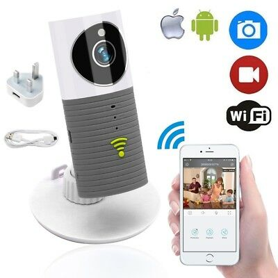 Clever Dog Wireless Smart IP Camera WiFi Monitor Security Night Vision Cam Home