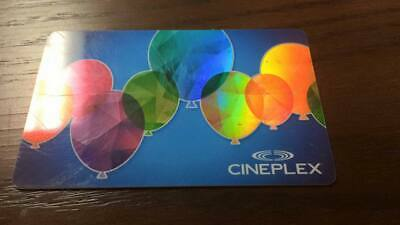 $30 Cineplex Gift Card