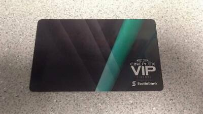 $25 Cineplex Gift Card - VIP