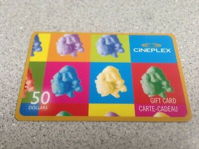 $50 Cineplex Gift Card - Lot 2