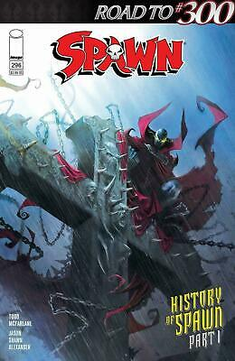SPAWN #296 IMAGE COMICS COVER A Francesco Mattina 1st print