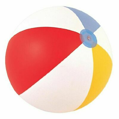 """Inflatable Blowup Panel Beach Ball Holiday Party Swimming Toy 16"""" 20"""" 24"""""""