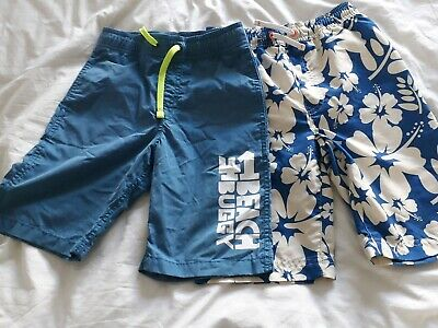 Boys beach shorts - 2 pairs (Next and H&M) aged 5-7 years