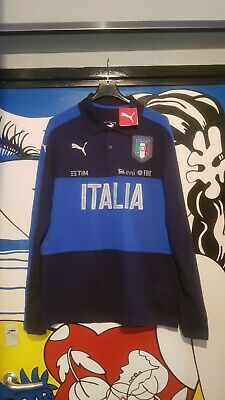 Polo Italia Buffon Chiellini No Match Worn Match Day Nation League Mondiali Xl