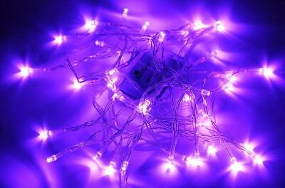 Karlling Battery Operated Purple 40 LED Fairy Light String 40 Leds,