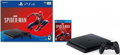 PlayStation Slim 1TB Console Marvels Spider Man Bundle - 4 1