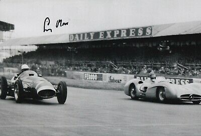 Stirling Moss Hand Signed 12x8 Photo - F1 Autograph 2.