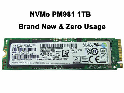 SAMSUNG 1TB M.2 2280 PCIe NVMe 1024GB SSD - BRAND NEW/UNOPENED- Part # 00UP492
