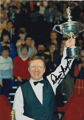 Dennis Taylor Hand Signed 7x5 Photo - Snooker Autograph 1.